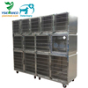304 stainless steel strong and sturdy pet display cage