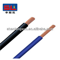 6 Sqmm single copper core with pvc insulation electric wire
