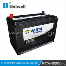 Best quality varta car battery start power battery