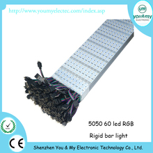 12V 5050 SMD 72leds/M LED RGB Rigid Strip Lighting 1m/Pc Non-Waterproof