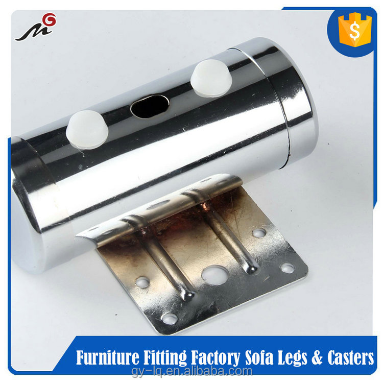 Fast Delivery metal caps for furniture legs/Low Price chrome legs for furniture MG14-13