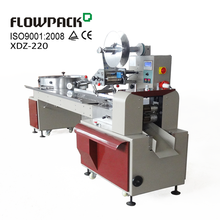 High Speed Pillow Bag Pack Sweet Wrap Equipment Horizontal Flow Candy Wrapper Full Automatic Lollipop Wrapping Machine