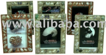 Resin Seashell Craft - Photo Frame