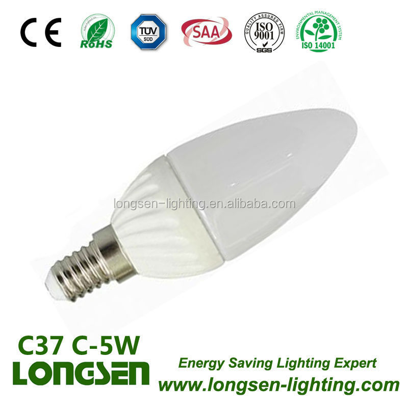 C38 3W 4W 5W Good Quality LED CANDLE LIGHT