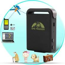 SMS GPRS GSM kids car animal cow GPS tracker tk102,long distance tracking