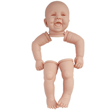 22 inch doll making kit silicone mold for reborn handmade soft doll kit