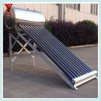 Split Solar Water Heater Vacuum Tube Collector with Heat Pipe 12bar Pressure SRCC, Solar Keymark Certified SR15-58/1800