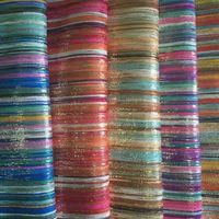 Pakistan Fashion foil China Supplier Polyester Cloth Fabric/Shiny Fabrics For Lady Shoes(Telas)