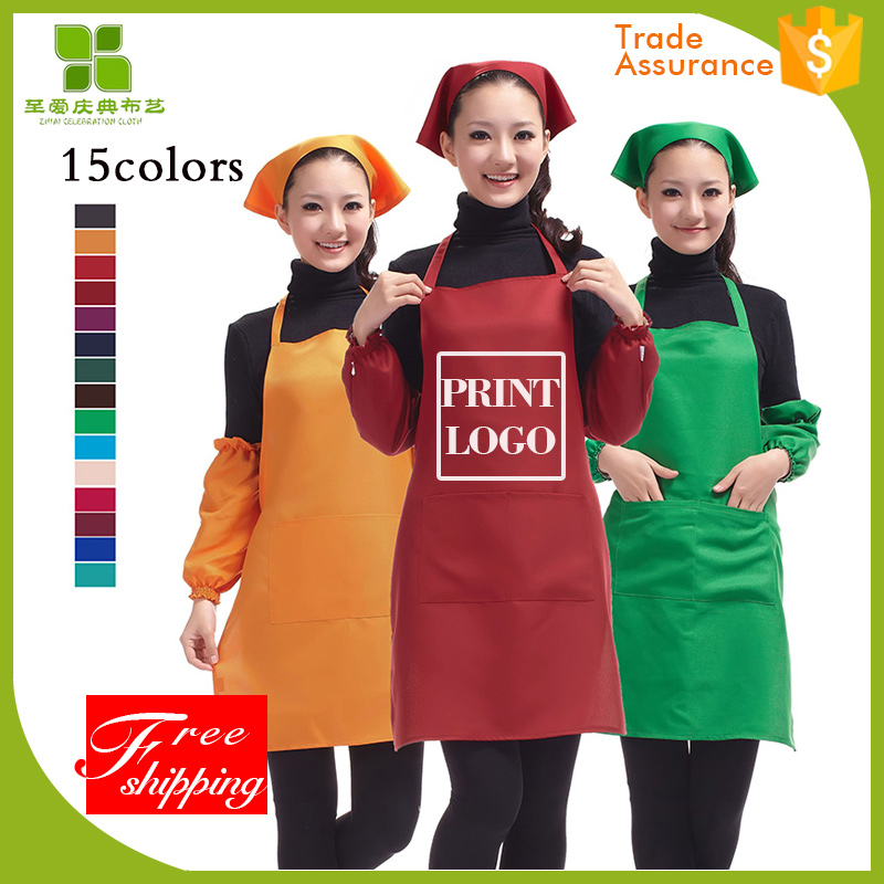 high quality restaurant uniform waist apron with best and low price