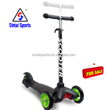 Kick Push Kids T Bar Tilt And Turn Mini 3 Wheel Scooter