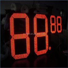 led steel gas price pylon sign outdoor custom LED pylon sign for chains gas