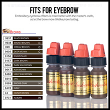 Lushcolor Medical Grade Permanent Makeup Eyebrow Tattoo Pigment