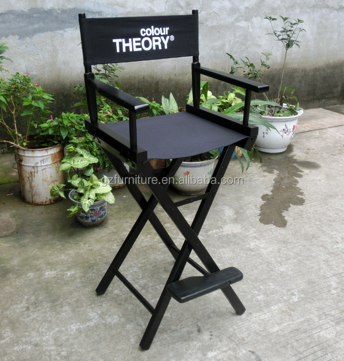 Guangzhou High Quality & Most Cheapest Wooden Director Chair,Tall Director Chair
