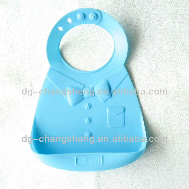 Soft PVC Free Silicone baby product,baby feeding product with Colour Printing