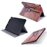fashion smart printing leather pu flip cover case for ipad air