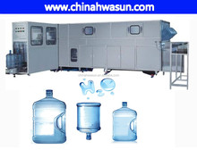 Automatic 5 gallon washing filling capping 3in1 machine