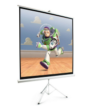 Wholesale Office Equipment Portable Tripod Stand Projector Screen / Low Price of Front Projection Screen