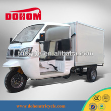 DOHOM pedal cargo tricycle with sunshade