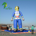 Giant Customized Superman Model / Air Fireman Minion / 9M Advertising Inflatable for Outdoor Display