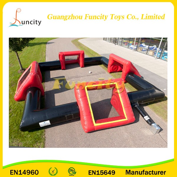 Inflatable football field, portable inflatable soccer football field for adults