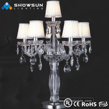 Cheap candelabra wedding decorations table lamps