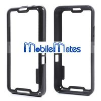 Double Color Hybrid PC+TPU Frame Bumper Case For Blackberry Z30 A10 (Black)