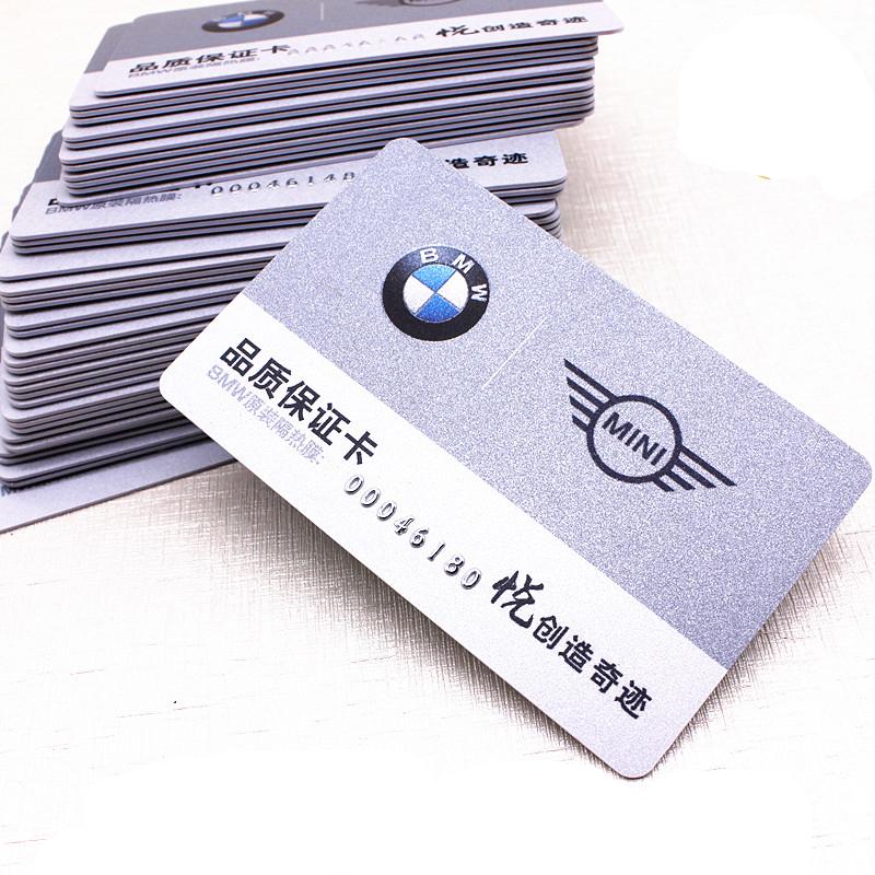Custom Magnetic Barcode Vip Card Printing Membership Plastic Card ...