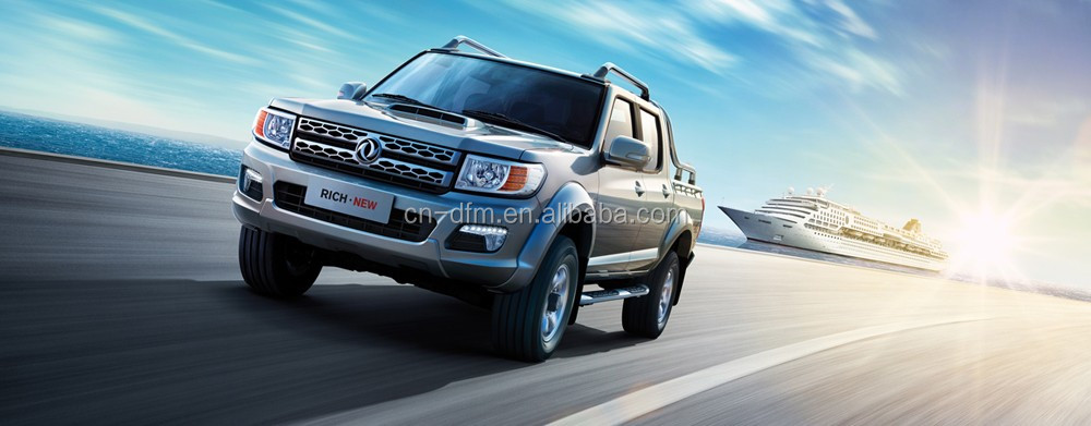 Big Promotion Factory Directly RICH Pickup truck PickUp 4x4 with Crew Cab