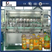 ce standard bottle edible oil filling capping machinery