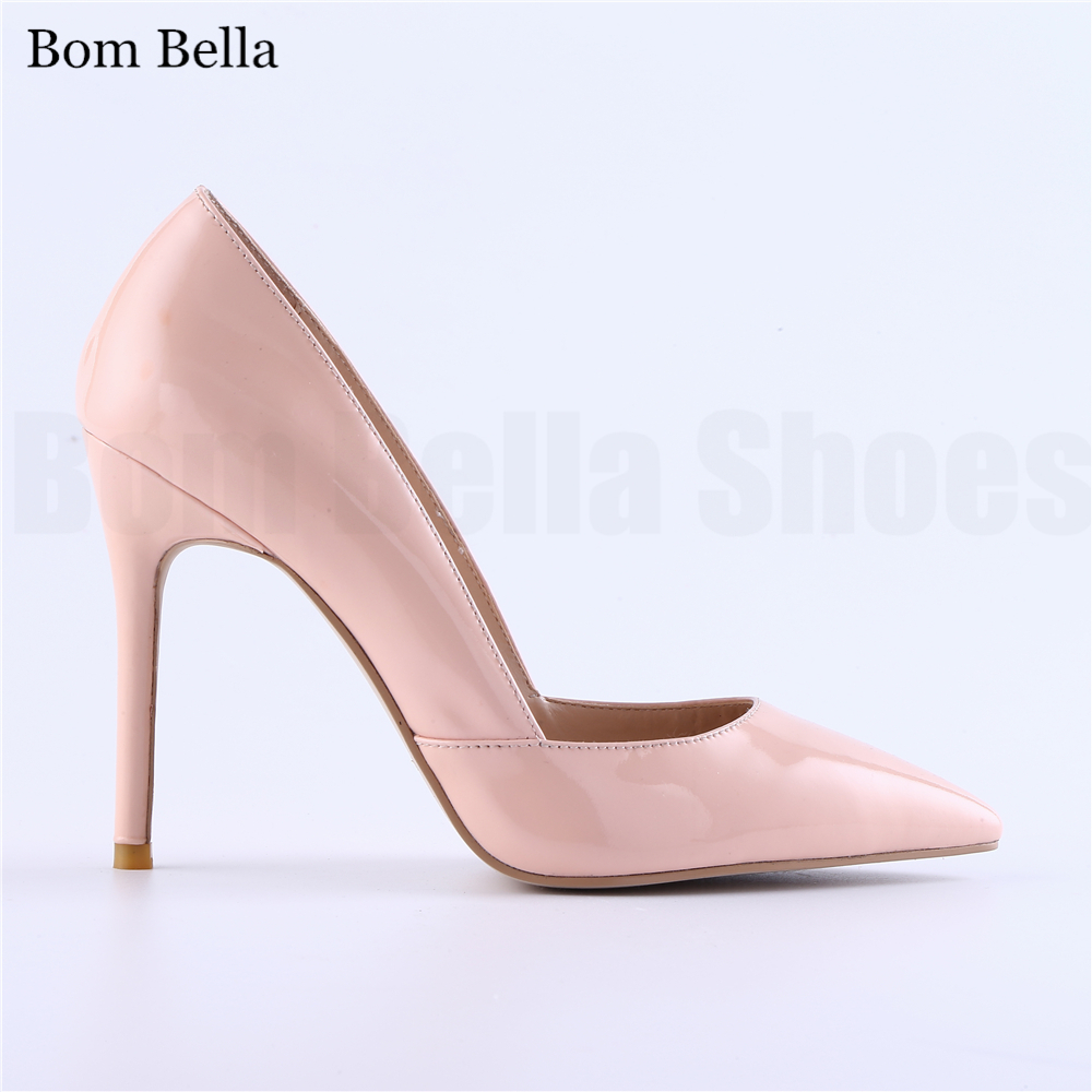 BBLA446 pointed toe high <strong>heels</strong> ladies bridal dress pumps shoes