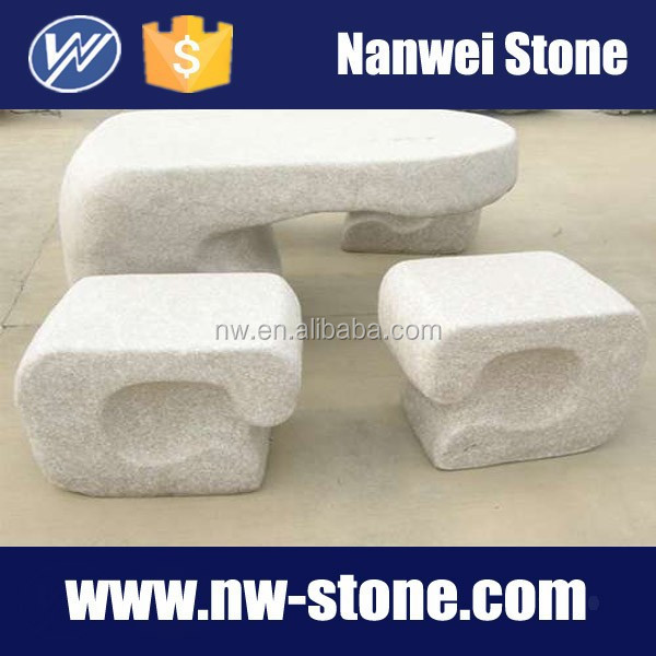 white granite square chairs, garden products