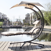 Garden Metal Hanging Helicopter Swing Chair