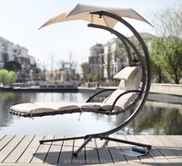 Garden Metal Hanging Helicopter Swing Chair