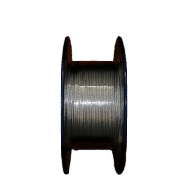 Factory Supply 3mm 7x7 304 or 316 stainless steel wire rope price