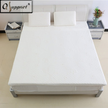 Qsupport Soft Flexible Breathable Natural Latex Mattress Topper-Promotes Blood Circulation-Antibacterial Anti-mites