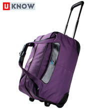 China hot products brand nylon travel bag best trolley luggage suitcase