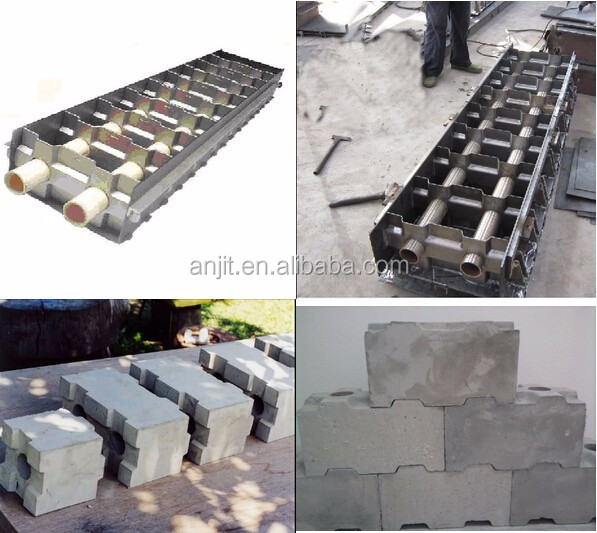 Lightweight foam concrete block making machine buy foam for Concrete foam block