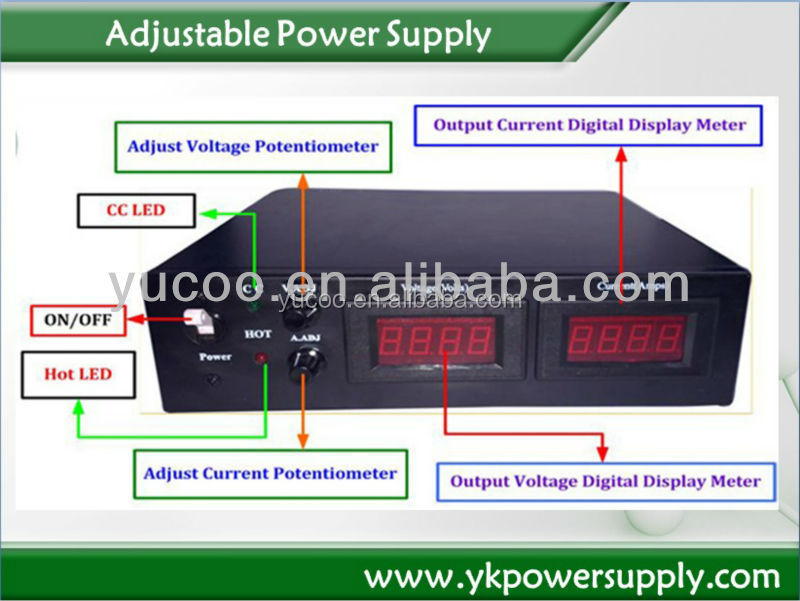 DC 150V 1500W Constant Voltage Power Supply ac transformer With CE And RoHS