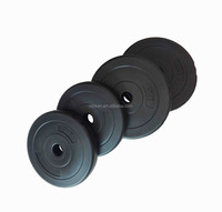 Black&Colourful plastic weight Plate