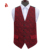 Fashion Vest Patterns Polyester Tuxedo Waistcoat for Men