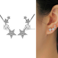 Jermya Christmas Star Zircon Diamond Ear