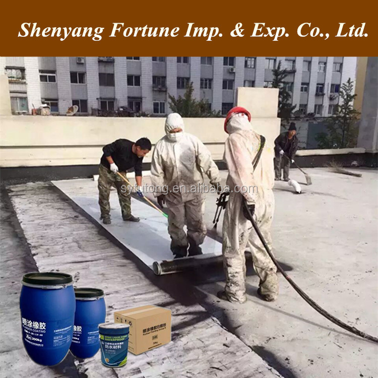 Flex Seal Double Component Liquid Rubber Acrylic Waterproof Roof Coating