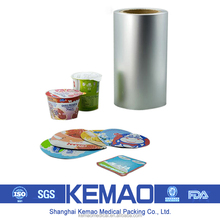 large rolls of aluminum foil lid for sealing PS/PP Cups