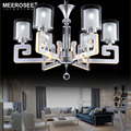 Modern Chandelier Light Fixture LED Glass Suspension Lamp Lustres Lamparas Home Lighting for Living room Luminaire MD51016013