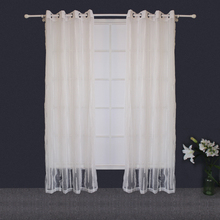 Customized Top Quality 100%Polyester Jacquard Curtains For Manufactured Home