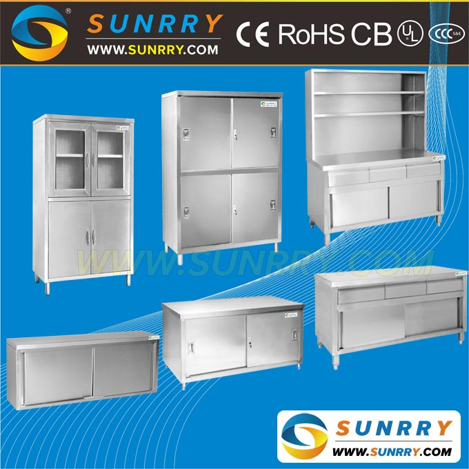 Stainless Steel Metal Kitchen Cabinets/Metal Kitchen Cabinets Sale/China Kitchen Cabinet Factory (SY-CB715FR SUNRRY)