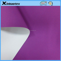 waterproof and windproof fabric 100% nylon 228T dull taslan +coating