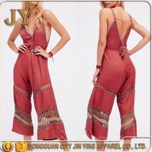 Summer Hollow out Playsuit Latex Jumpsuit Spaghetti String Jumpsuits Fitness