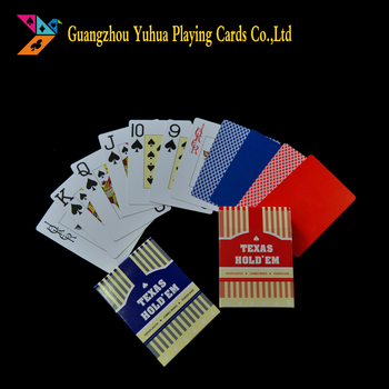 A playing cards meaning poker cards customized playing cards in plastic YH0707-01