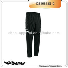 Duarable full hip padding long pants goalkeeper men wholesale